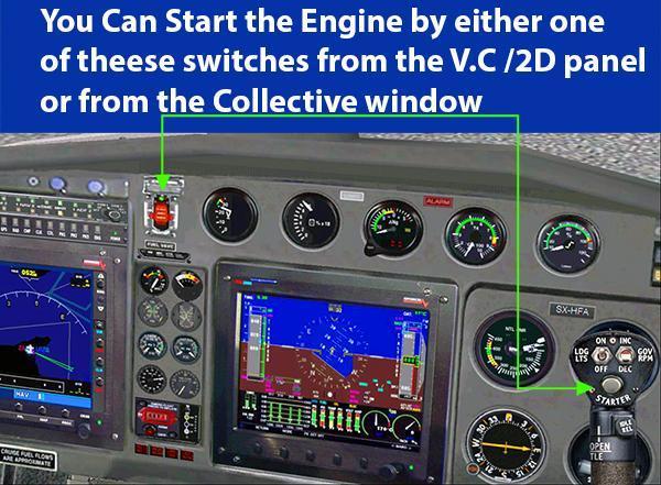 AS350 பொறி தொடக்க
