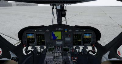 Ustગસ્ટા વેસ્ટલેન્ડ AW139 FSX P3D  14