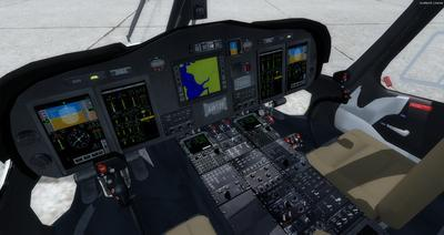 Ustગસ્ટા વેસ્ટલેન્ડ AW139 FSX P3D  15