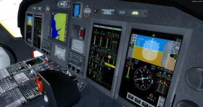 Ustગસ્ટા વેસ્ટલેન્ડ AW139 FSX P3D  18