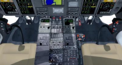 Ustગસ્ટા વેસ્ટલેન્ડ AW139 FSX P3D  19