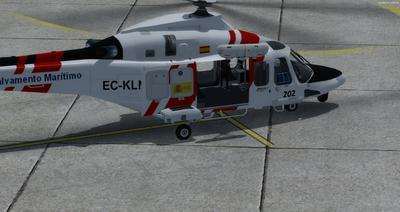 Ustગસ્ટા વેસ્ટલેન્ડ AW139 FSX P3D  2