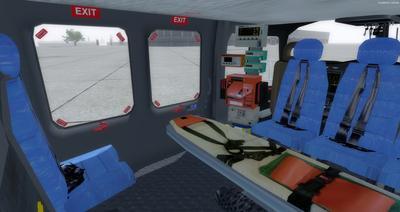Ustગસ્ટા વેસ્ટલેન્ડ AW139 FSX P3D  23