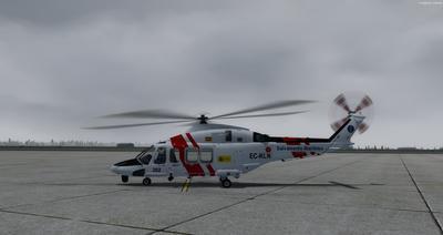 Ustગસ્ટા વેસ્ટલેન્ડ AW139 FSX P3D  5