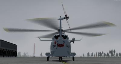 Ustગસ્ટા વેસ્ટલેન્ડ AW139 FSX P3D  7