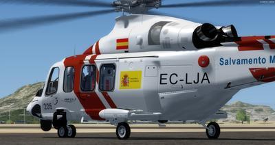 अगस्ता वेस्टलँड AW139 SAR FSX P3D  3