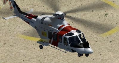 SAR AgustaWestland AW139 FSX P3D  8