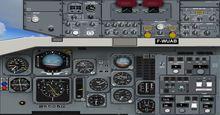 Airbus A300B1 B2 B4 FSX P3D  12