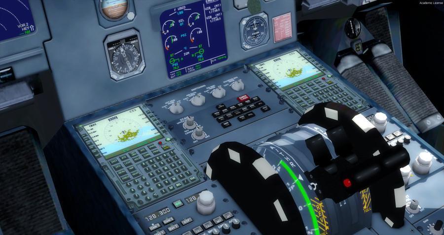 एयरबस A320 214 स्विस FSX P3D एफएमसी