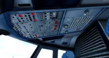 एयरबस A320 214 स्विस FSX P3D  11