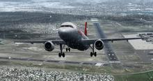 एयरबस A320 214 स्विस FSX P3D  17