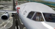 एयरबस A320 214 स्विस FSX P3D  29