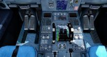 Airbus A320 214 svájci FSX P3D  7