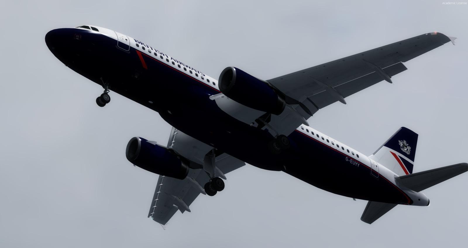 DOWNLOAD Airbus A320-232 in British Airways Landor FSX & P3D