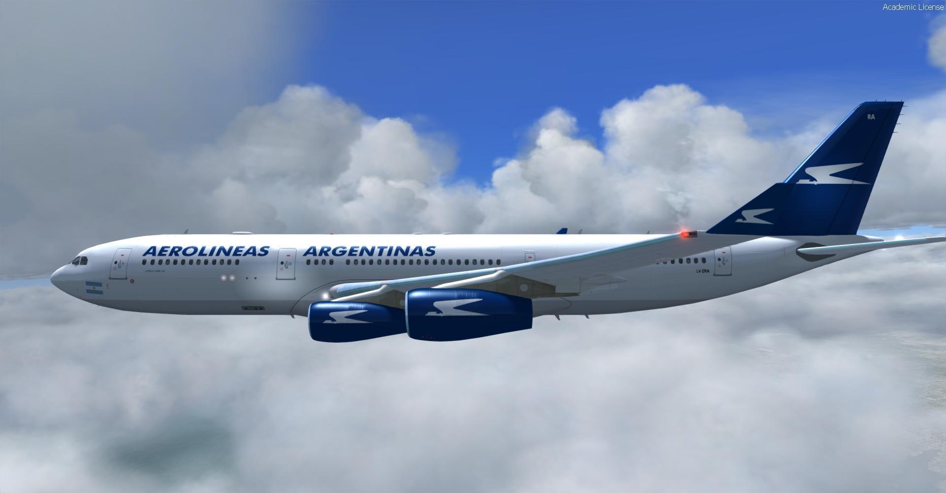 Airbus a340 fsx