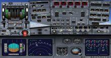 Airbus A340 XX საუკუნეები არგენტინაში FSX P3D  10