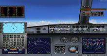 Airbus A340 XX საუკუნეები არგენტინაში FSX P3D  9