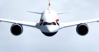 """""""Airbus A350 1000 XWB CamSim"""" FSX P3D  11"""