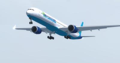 """""""Airbus A350 1000 XWB CamSim"""" FSX P3D  9"""