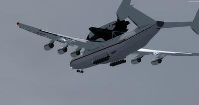 Antonov 225 Space Shuttle FSX P3D  3