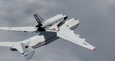 Antonov 225 Space Shuttle FSX P3D  7