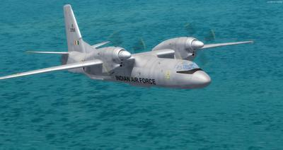 Antonov UN 32 FSX P3D  11