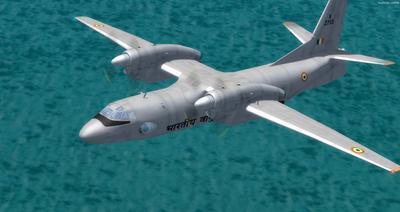 Antonov UN 32 FSX P3D  12