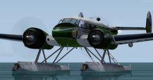 beechcraft d18s kétéltű 4