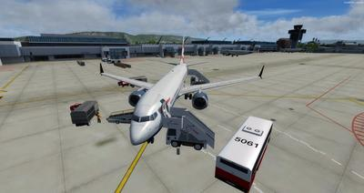Boeing 737 MAX8 Daghang Livery FSX P3D  13