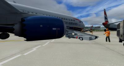 Boeing 737 MAX8 Daghang Livery FSX P3D  2
