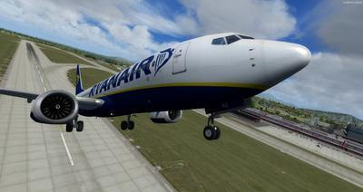 Boeing 737 MAX8 Daghang Livery FSX P3D  28