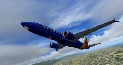 Boeing 737 MAX8 Daghang Livery FSX P3D  33