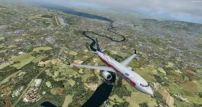 Boeing 737 MAX8 Daghang Livery FSX P3D  36