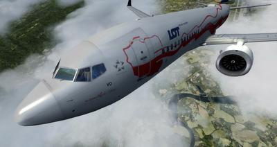 Boeing 737 MAX8 Daghang Livery FSX P3D  38