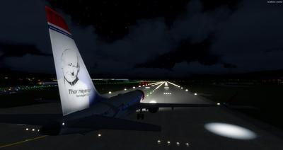 Boeing 737 MAX8 Daghang Livery FSX P3D  39
