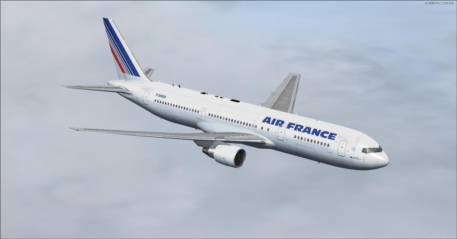 DOWNLOAD Boeing 767-300 twelve repaints FSX & P3D - Rikoooo