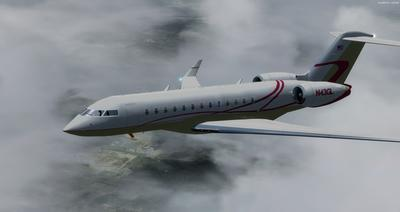 Bombardier Global Express XRS FSX P3D  11