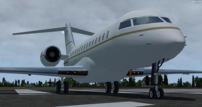 Bombardier Global Express XRS FSX P3D  2