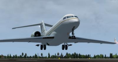 Bombardier Global Express XRS FSX P3D  3