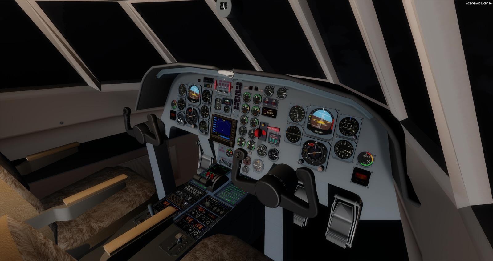 DOWNLOAD Dassault Falcon 20E FSX & P3D - Rikoooo