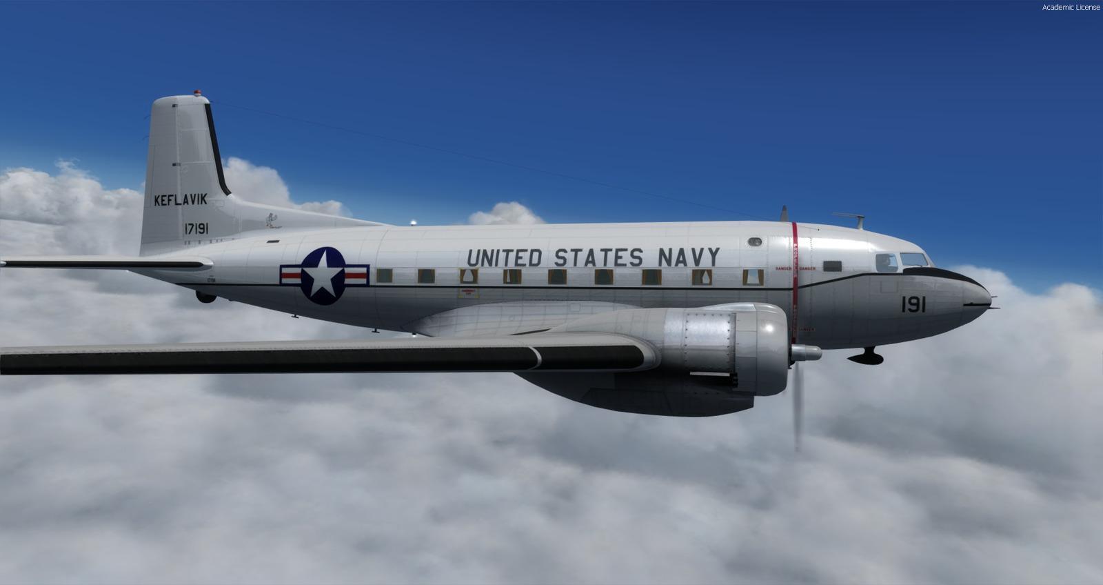 DOWNLOAD Douglas C-117D FSX & P3D - Rikoooo