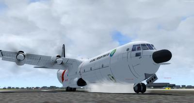 Reelaboració 133 de Douglas C 2.0B Cargomaster FSX P3D  13