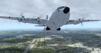 Reelaboració 133 de Douglas C 2.0B Cargomaster FSX P3D  15
