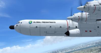 Reelaboració 133 de Douglas C 2.0B Cargomaster FSX P3D  19