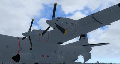 Reelaboració 133 de Douglas C 2.0B Cargomaster FSX P3D  2