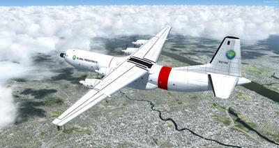 Reelaboració 133 de Douglas C 2.0B Cargomaster FSX P3D  20