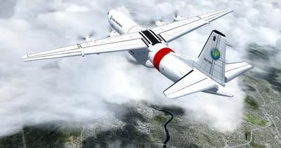 Reelaboració 133 de Douglas C 2.0B Cargomaster FSX P3D  21