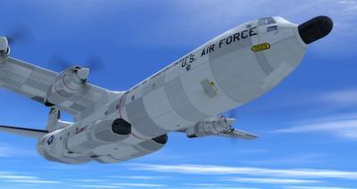 Reelaboració 133 de Douglas C 2.0B Cargomaster FSX P3D  25