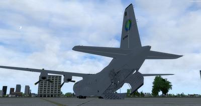 Reelaboració 133 de Douglas C 2.0B Cargomaster FSX P3D  4