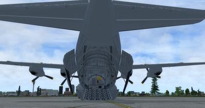 Reelaboració 133 de Douglas C 2.0B Cargomaster FSX P3D  5
